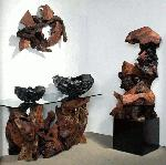 Redwood Modern Abstract Sculptures