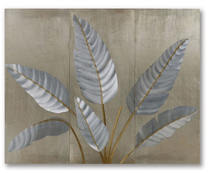 Metallic Leaves - Wall Panel Set