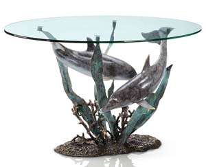 Bronze Sculpture Tables