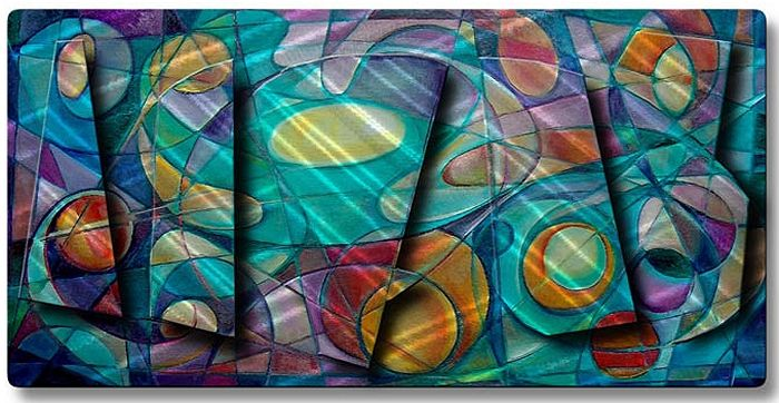 Abstract art wall murals images for Abstract mural painting
