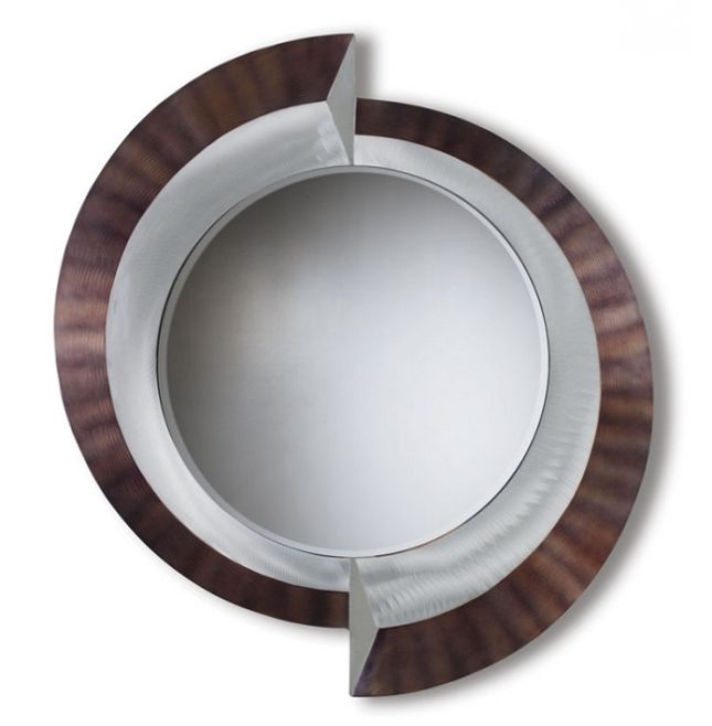 Crescents-Contemporary Wall Mirror