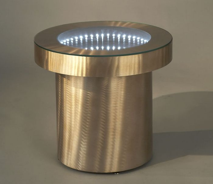 Infinity Tunnel End Table