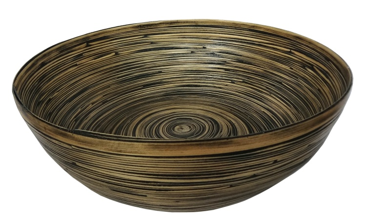 Bamboo Decorative Centerpiece Bowl
