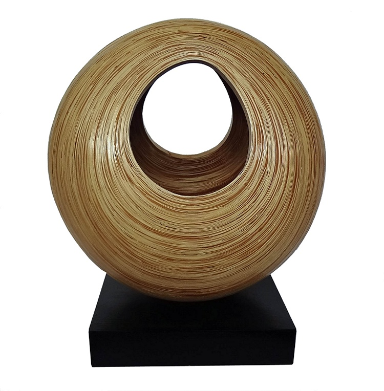 Bamboo Sculpture-Medium Natural