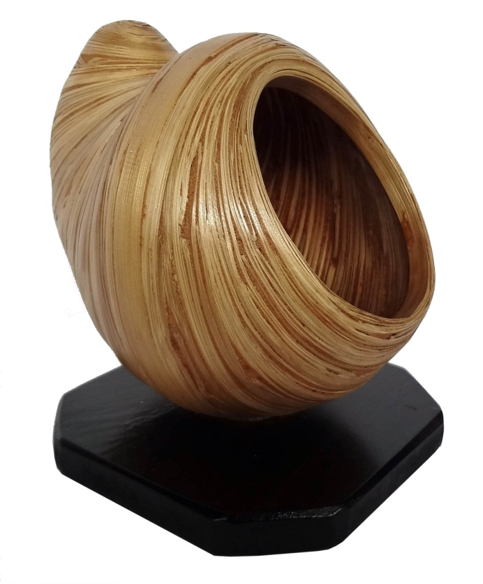 Bamboo Sea Shell Sculpture-Small